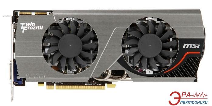 Видеокарта MSI ATI Radeon HD 7950 Twin Frozr3 BOOST Edition GDDR5 3072 Мб (R7950_TF_3GD5/OC_BE)