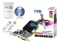 Видеокарта HIS ATI Radeon HD 5570 Fan Native GDDR3 1024 Мб (RoHS) (H557FJ1G)