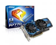 Видеокарта MSI ATI Radeon HD 7770 TransThermal DustRemoval GDDR5 1024 Мб (R7770 Power Edition 1GD5)