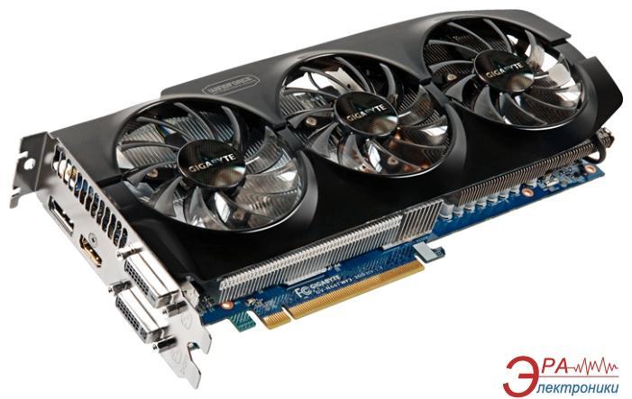 Видеокарта Gigabyte Nvidia GeForce GTX 660 Ti GDDR5 3072 Мб (GV-N66TWF3-3GD)