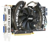 Видеокарта MSI Nvidia GeForce GTX460 GDDR5 1024 Мб (N460GTX CYCLONE 1GD5/OC)