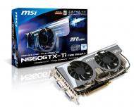 Видеокарта MSI Nvidia GeForce GTX 560 Ti Twin Frozr II GDDR5 1024 Мб (N560GTX-Ti Twin Frozr II) (912-V238-204)