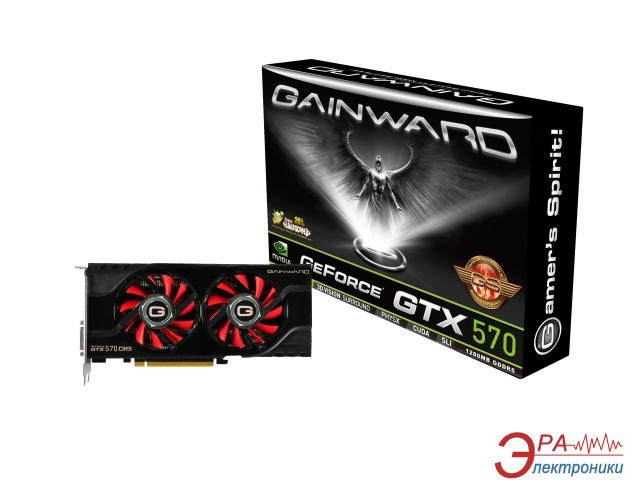 Видеокарта Gainward Nvidia GeForce GTX 570 Golden Sample GDDR5 1280 Мб (4260183362012)