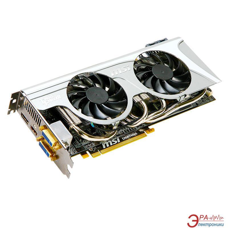 Видеокарта MSI ATI Radeon HD5870 GDDR5 1024 Мб (R5870 LIGHTNING)
