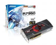 Видеокарта MSI ATI Radeon HD 7950 GDDR5 3072 Мб (R7950-3GD5/OC BE) (602-V276-Z07)