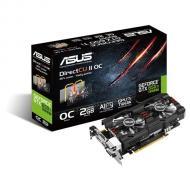 Видеокарта Asus Nvidia GeForce GTX 650 TI GDDR5 2048 Мб (GTX650TIB-DC2OC-2GD5) (90YV0430-M0NA00)