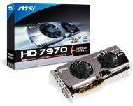 Видеокарта MSI ATI Radeon HD7970 Twin Frozr III GDDR5 3072 Мб (R7970 TF 3GD5/OC BE)