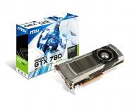 Видеокарта MSI Nvidia GeForce GTX 780 GDDR5 3072 Мб (N780-3GD5)