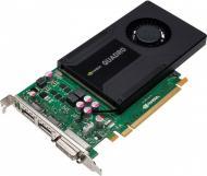 Видеокарта PNY Nvidia GeForce Quadro K2000 GDDR5 2048 Мб (VCQK2000-PB)