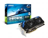 Видеокарта MSI Nvidia GeForce GTX 660 Hawk GDDR5 2048 Мб (N660 Hawk) (912-V288-002)