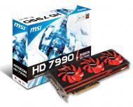 Видеокарта MSI ATI Radeon HD 7990 GDDR5 6144 Мб (R7990-6GD5)