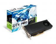 Видеокарта MSI Nvidia GeForce GTX 760 GDDR5 2048 Мб (N760-2GD5/OC)