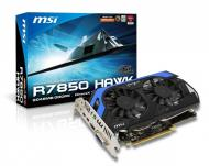 Видеокарта MSI ATI Radeon HD 7850 HAWK GDDR5 2048 Мб (R7850 HAWK (602-V273-Z05))