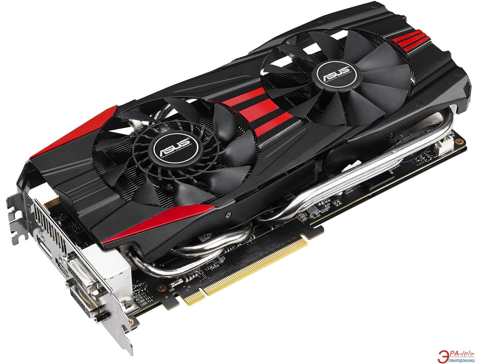 Видеокарта Asus Nvidia GeForce GTX 780 GDDR5 3072 Мб (GTX780-DC2-3GD5)