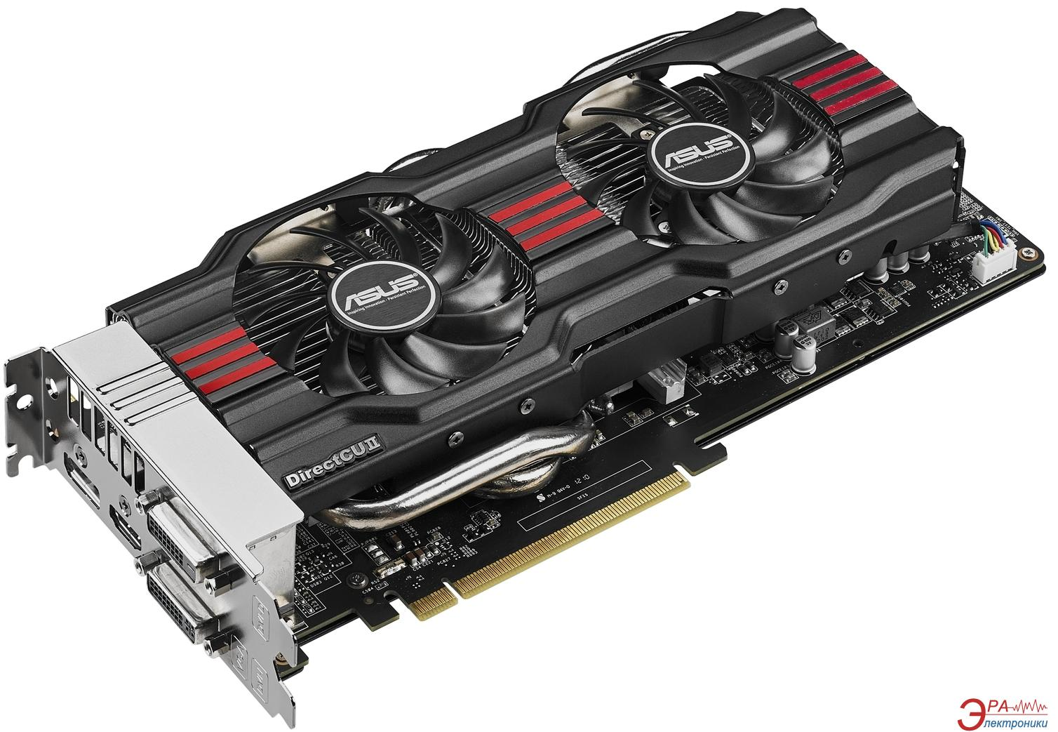 Видеокарта Asus Nvidia GeForce GTX 770 DirectCU II GDDR5 2048 Мб (GTX770-DC2-2GD5)