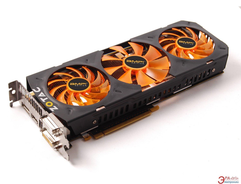 Видеокарта Zotac Nvidia GeForce GK110 GDDR5 3072 Мб (ZT-70203-10P)