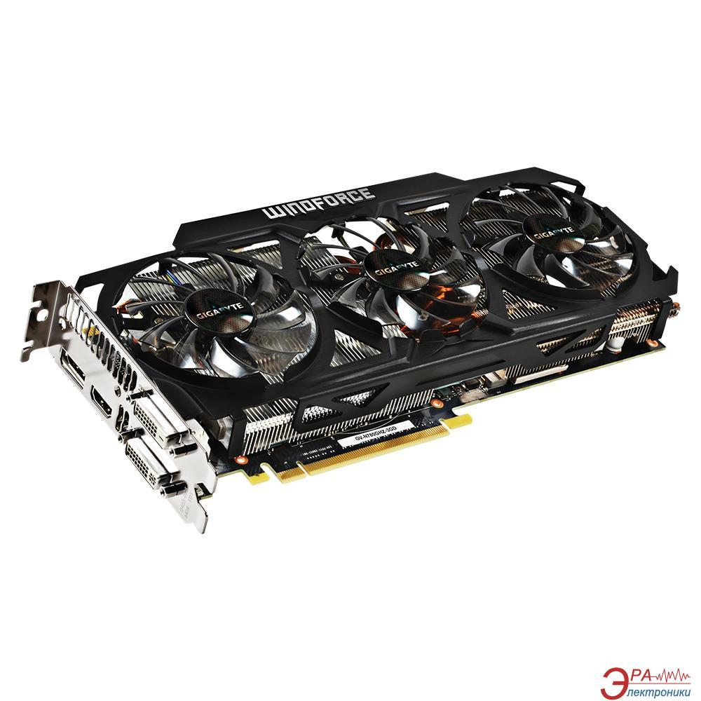 Видеокарта Gigabyte Nvidia GeForce GTX 780 GHz Edition Highly Overclocked GDDR5 3072 Мб (GV-N780GHZ-3GD)