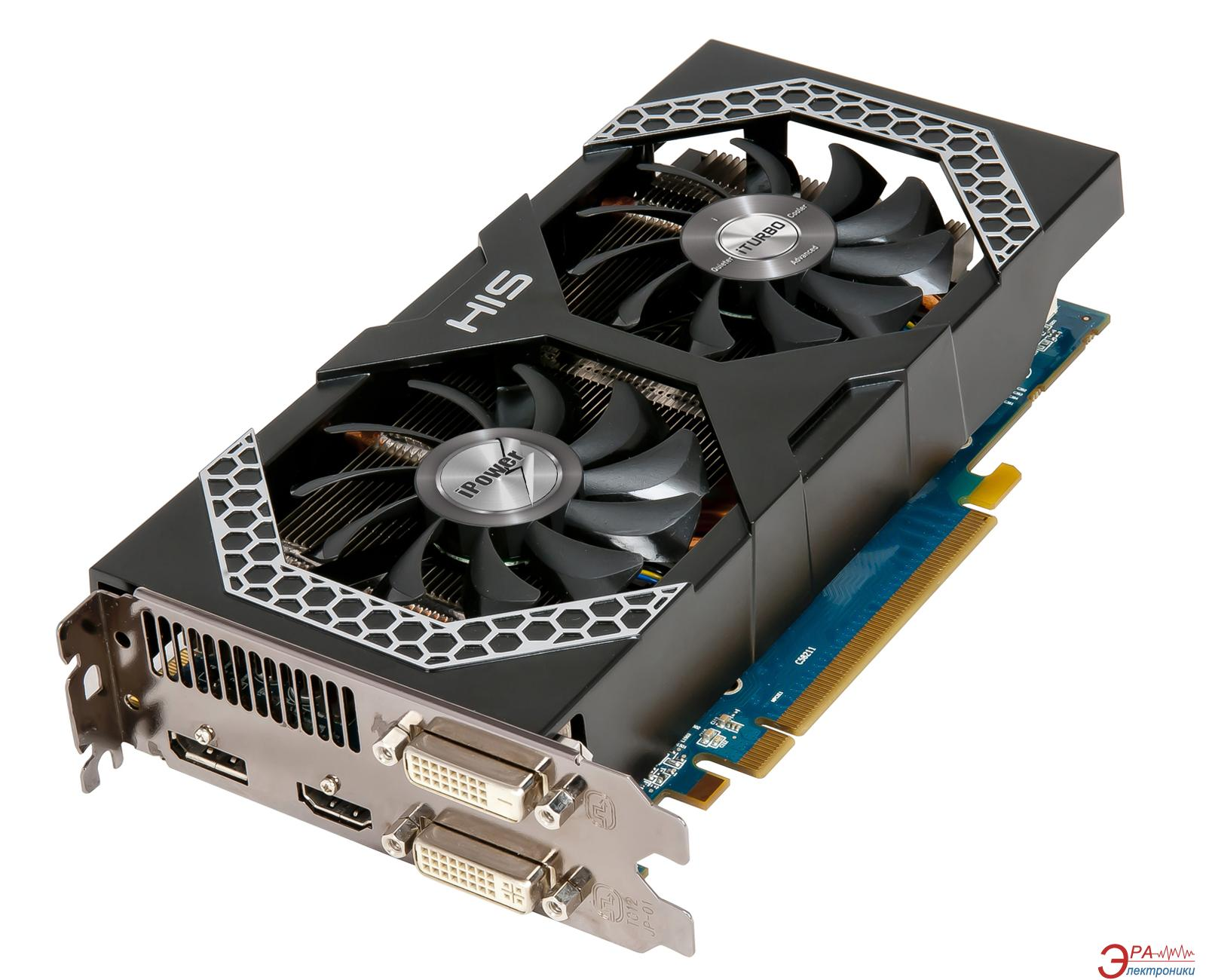 Видеокарта HIS ATI Radeon R7 260X iPower IceQ X2 GDDR5 1024 Мб (H260XQM1GD)