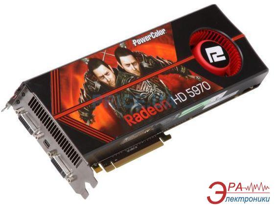 Видеокарта Powercolor ATI Radeon HD5970 GDDR5 2048 Мб (AX5970 2GBD5-MD)