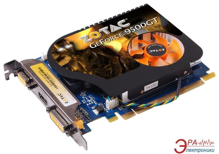 Видеокарта Zotac Nvidia GeForce 9500GT GDDR2 512 Мб (ZT-95TEH3M-FSL)