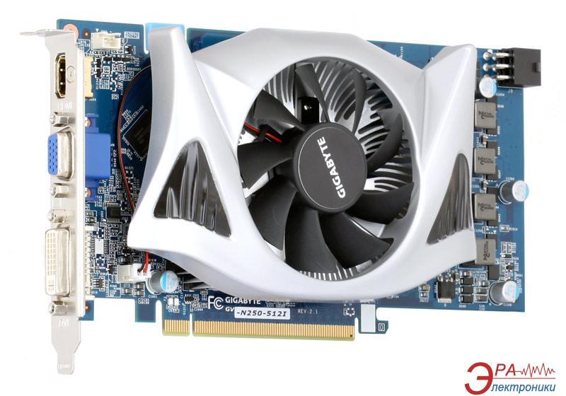 Видеокарта Gigabyte Nvidia GeForce GTS250 GDDR3 512 Мб (GV-N250-512I)