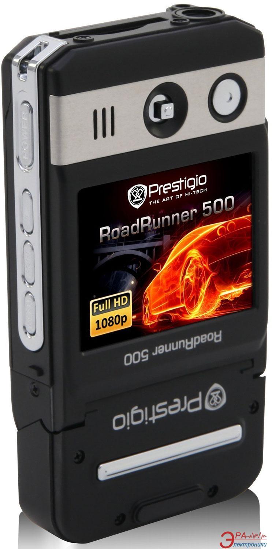 Видеорегистратор автомобильный Prestigio RoadRunner 500