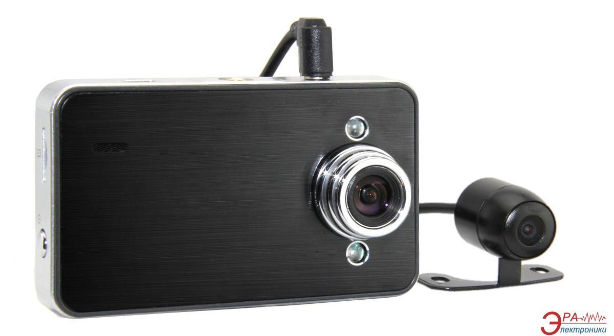Видеорегистратор автомобильный Globex GU-DVH010 (2 камеры)