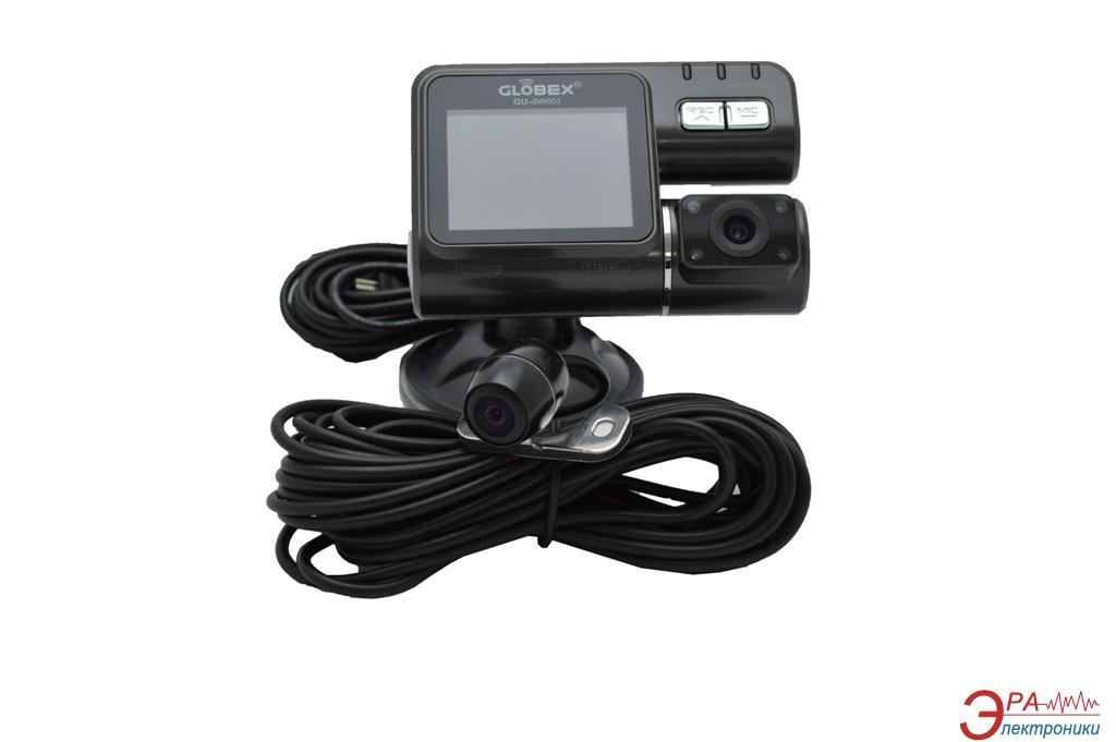 Видеорегистратор автомобильный Globex GU-DVH003 (2 камеры)