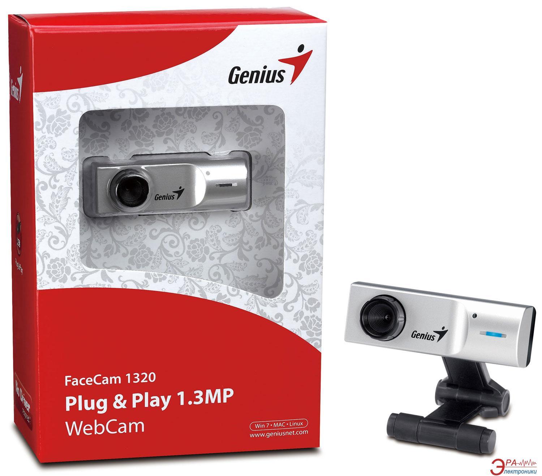 Веб-камера Genius FaceCam 1320 (32200178101)